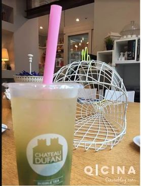 chateau dufan_bubble tea
