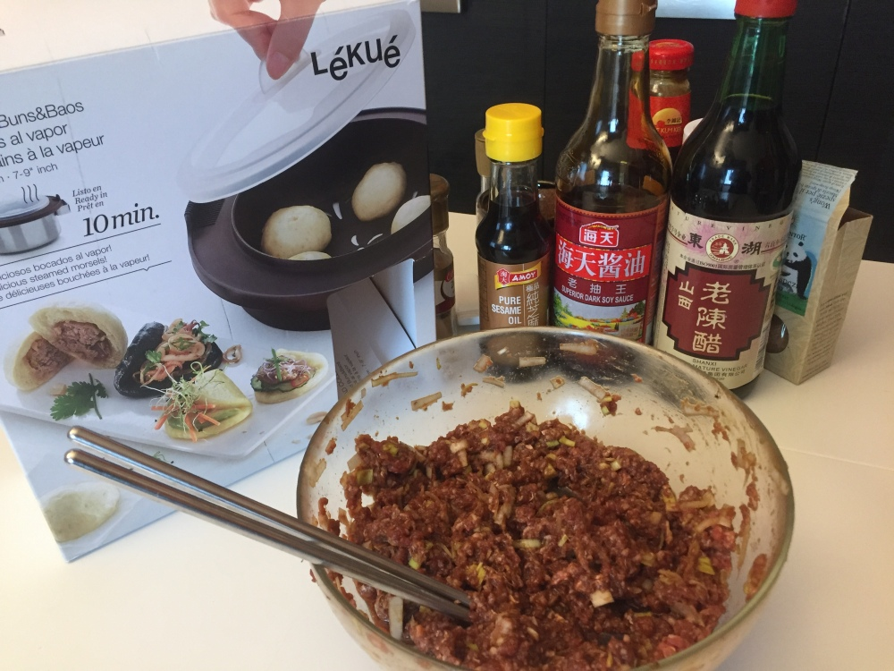Baozi fatto in casa ingredienti